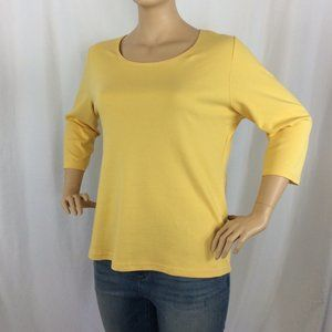 Karen Scott 3/4 Sleeve Blouse 198D